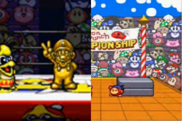 Mario Cameos Kirby Super Star 1996 SNES