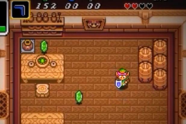 Mario Cameos Legend of Zelda Link to the Past 1991 SNES