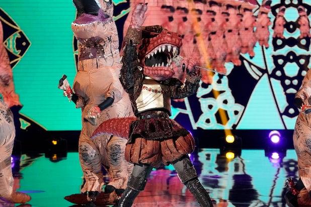 Masked Singer T-Rex Jojo Siwa