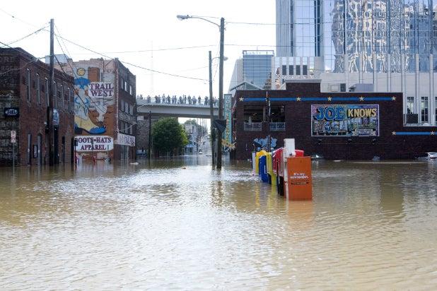 Nashville storms