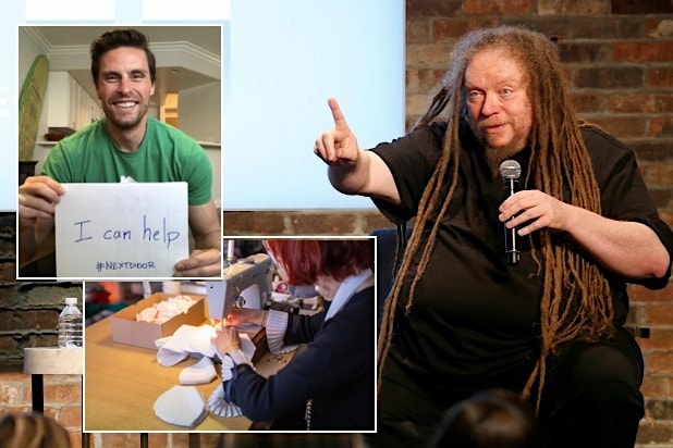 Jaron Lanier coronavirus pandemic helping hands