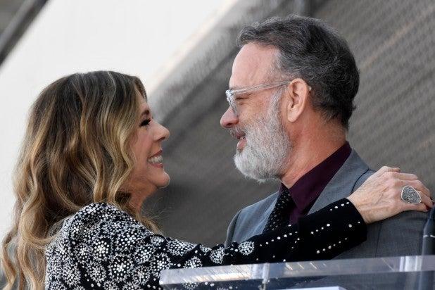 Rita Wilson and Tom Hanks