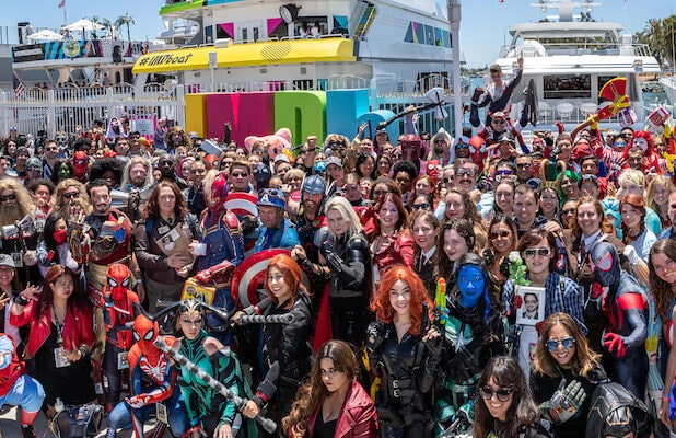 Nightmare Before Christmas Comic Con 2020 Offsite Event San Diego Comic Con Fans Erect a Shrine For Canceled Event