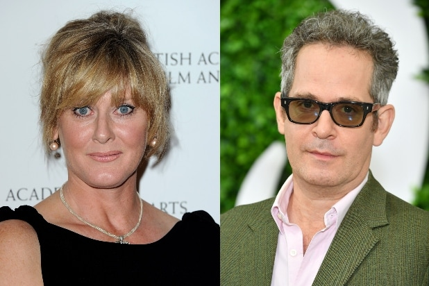Sarah Lancashire and Tom Hollander