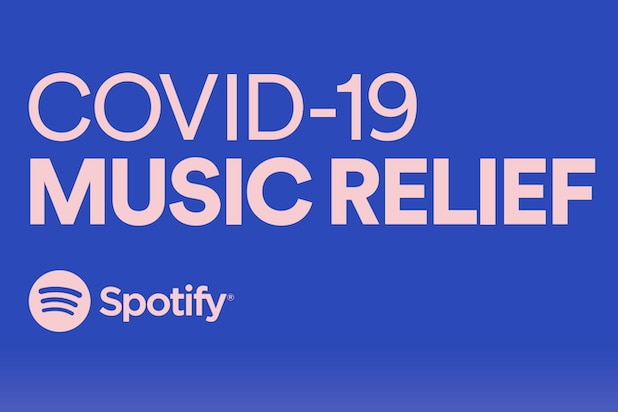 Spotify COVID-19 Music Relief