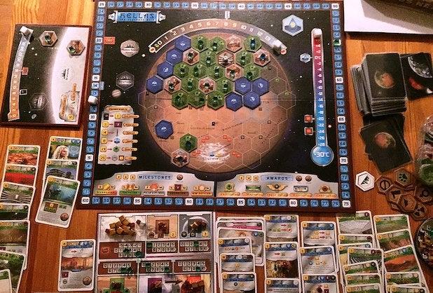Terraforming Mars - BiblioteKarin