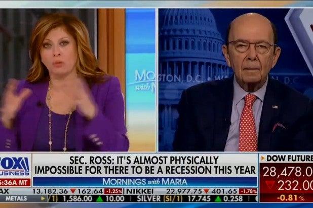 Wilbur Ross Says Coronavirus Good for US Economy