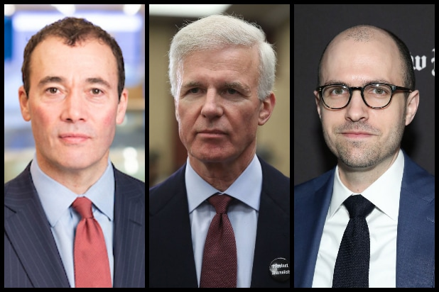 William Lewis, Fred Ryan, A. G. Sulzberger