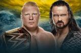 WrestleMania 36 Brock Lesnar vs Drew McIntyre