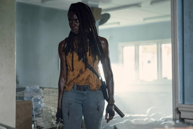 twd the walking dead michonne danai gurira final episode interview