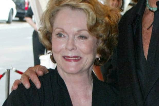 Shirley Douglas, mother of Kiefer Sutherland