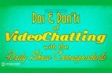Daily Show Videochatting Coronavirus