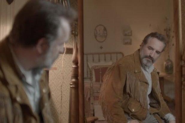 Jean Dujardin in Deerskin