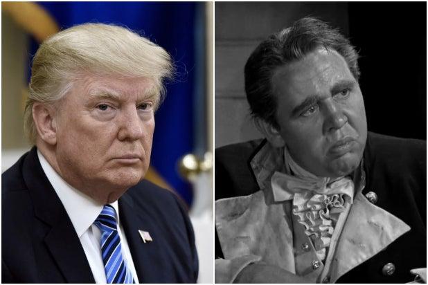 Donald Trump Mutiny on the Bounty Captain Bligh