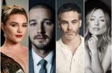 Don't Worry Darling Cast Florence Pugh Shia LaBeouf Chris Pine Olivia Wilde