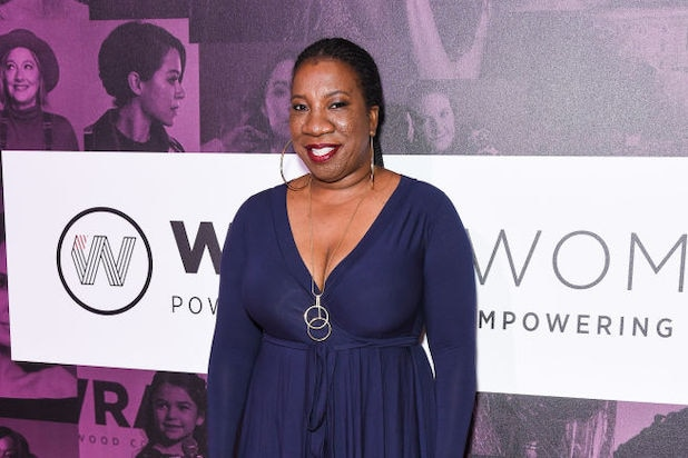 Tarana Burke at TheWrap's Power Women Summit in 2018.