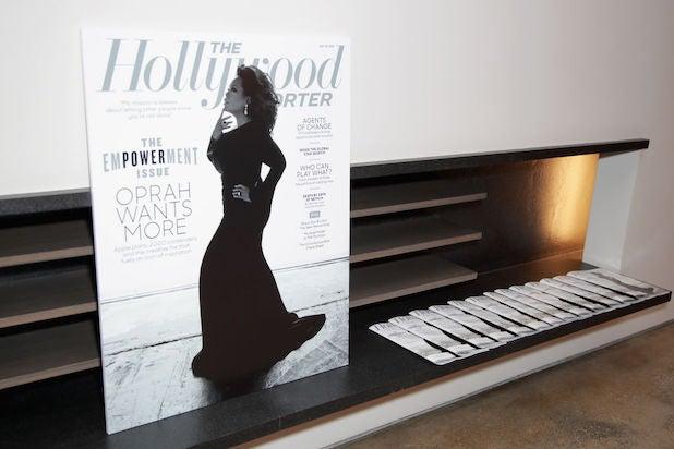 Hollywood Reporter magazine