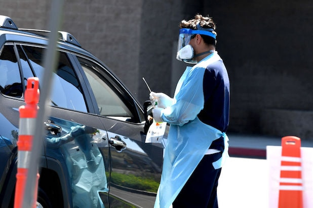 Los Angeles coronavirus testing