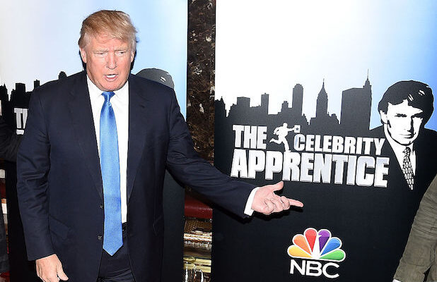 Donald Trump at Celebrity Apprentice red carpet event in 2015