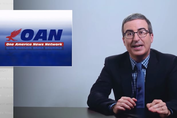 Last Week Tonight John Oliver OAN