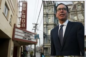 Mnuchin Closed Theater Coronavirus