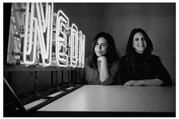 Neon's Christina Zisa (left) and Elissa Federoff