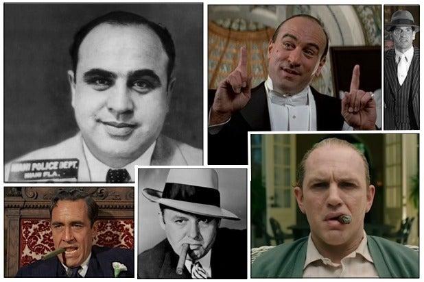 Al Capone collage