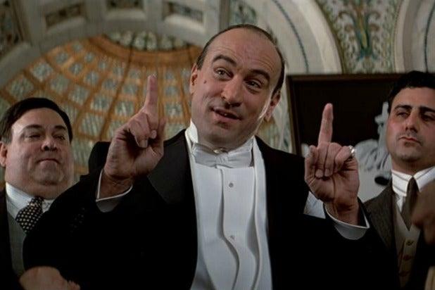 Robert De Niro Al Capone Untouchables