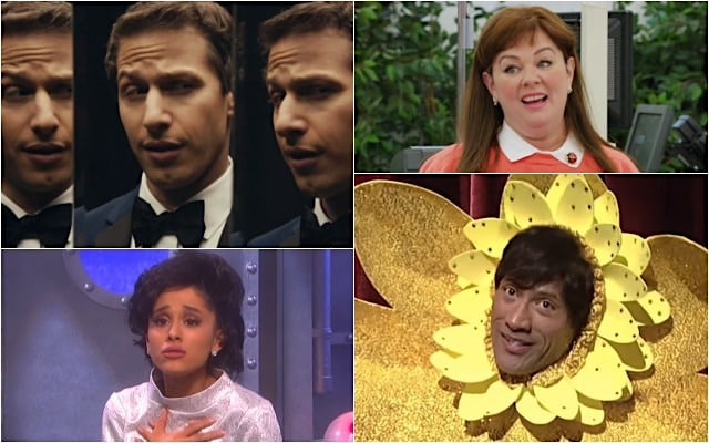 15 Craziest 'SNL' Sketches Cut for Time – From Andy Samberg's 'Testicules Cologne' to Ariana Grande as Judy Garland (Videos)