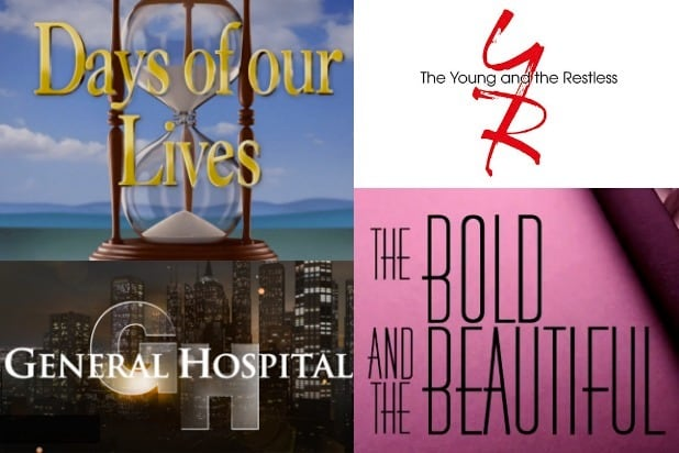 Soaps Days Of Our Lives General Hospital Young and the Restless Bold and the Beautiful coronavirus