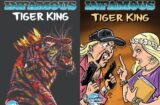 Tiger King comic covers