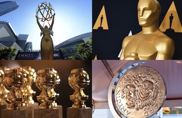 awards shows Emmys Oscars Golden Globes Tonys