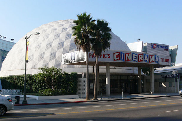 Cinerama Dome Arclight Hollywood