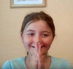 little girl on Some Good News