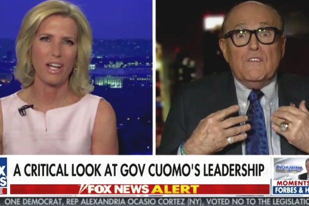 Rudy Giuliani Laura Ingraham Contact Tracing
