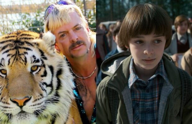 tiger king ratings viewers netflix stranger things 2