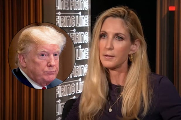 Ann Coulter Turns on 'Disloyal Actual Retard' Trump in Twitter Rant
