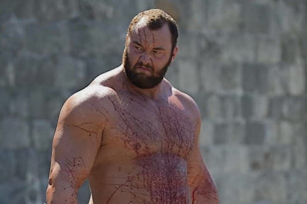 Game Of Thrones Mountain Hafthor Bjornsson