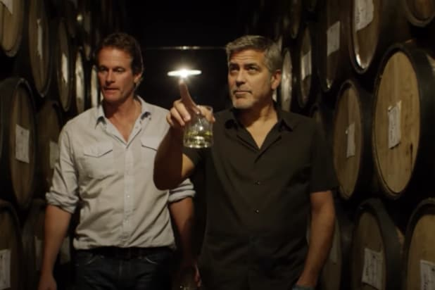 George Clooney and Randy Gerber