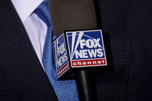 Fox News microphone