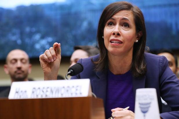 FCC acting chairwoman Jessica Rosenworcel