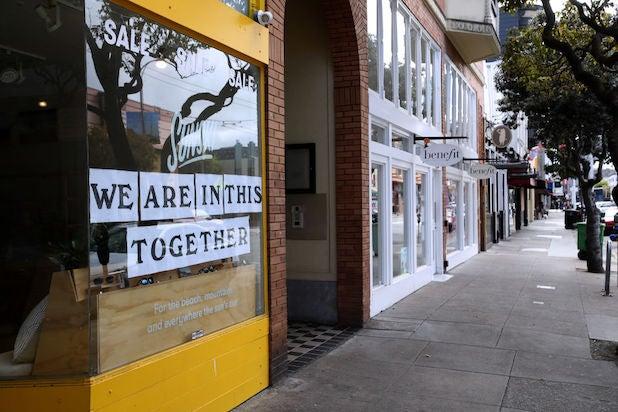 San Francisco storefronts