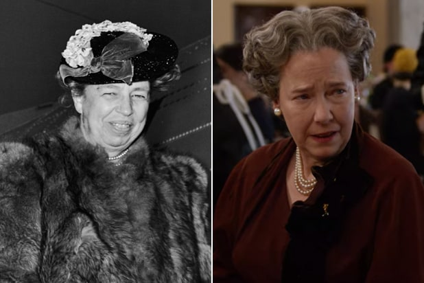 Hollywood Harriet Harris Eleanor Roosevelt