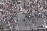 Huntington Beach protesters