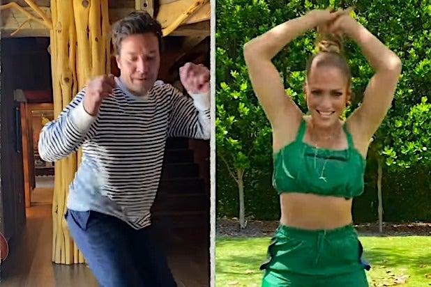 Jimmy Fallon Jenifer Lopez TikTok Dance Challenge