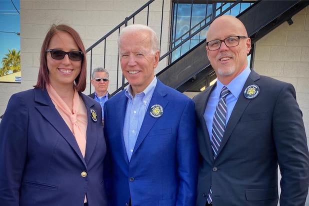 Joe Biden IATSE
