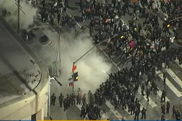 George Floyd Protests in Los Angeles Declared an 'Unlawful Assembly' After Clashes Between Protesters and Police