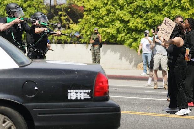Los Angeles Protests Riot George Floyd