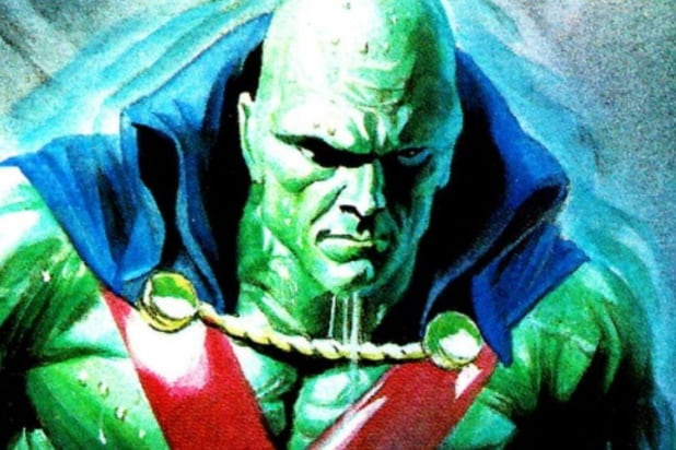 Martian Manhunter superhero