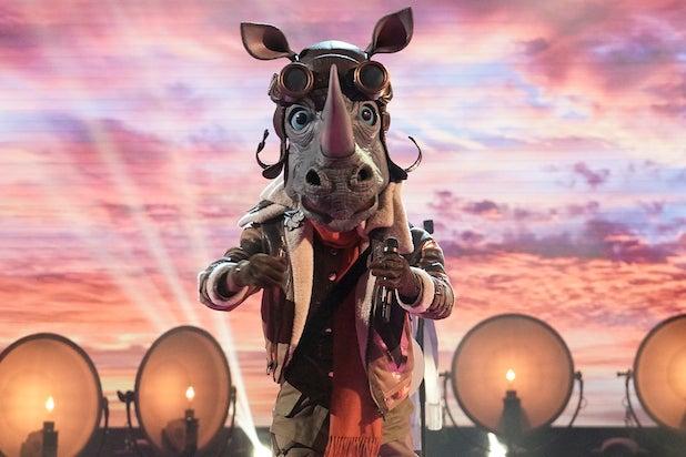 Masked Singer Barry Zito Rhino